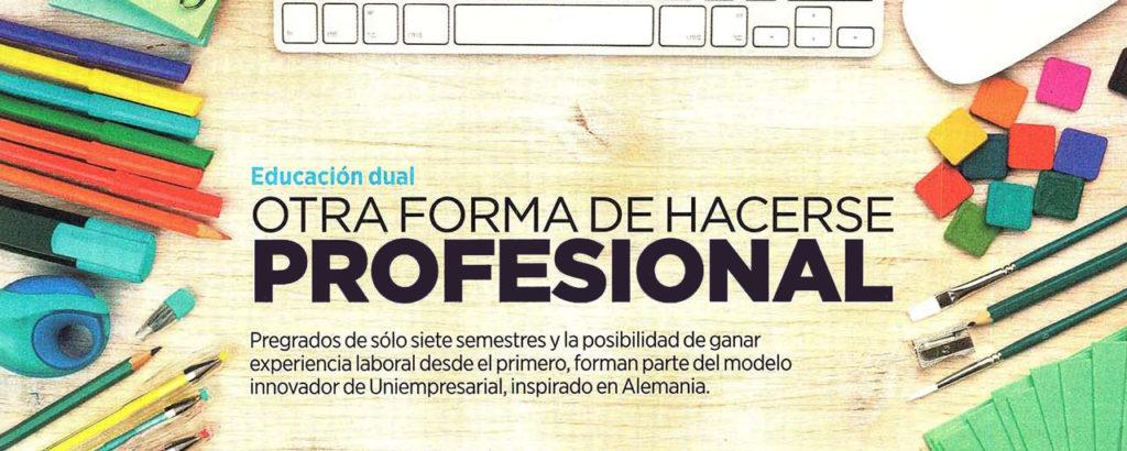 Educación Dual - Otra forma de hacerse profesional