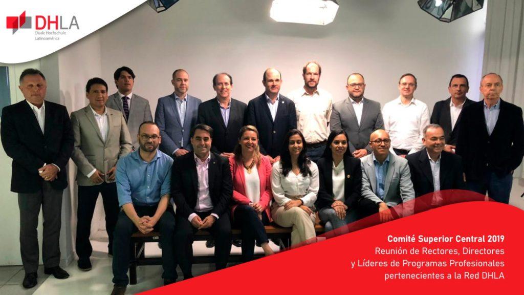Reunión de Rectores, Directores y Líderes de Programas Profesionales pertenecientes a la Red DHLA