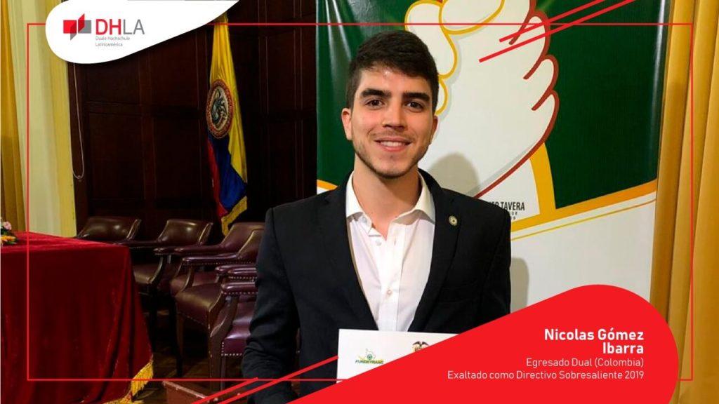 RECONOCIMIENTO A EGRESADO DUAL (UNAB) COMO DIRECTIVO SOBRESALIENTE 2019